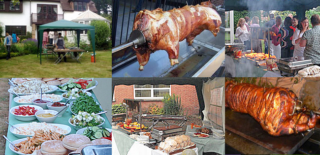 Hog Roast Party Catering